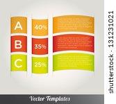 template  vector eps10... | Shutterstock .eps vector #131231021