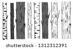 background with trees trunks.... | Shutterstock .eps vector #1312312391