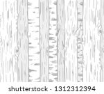 background with trees trunks.... | Shutterstock .eps vector #1312312394