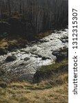 autumn mountain river stream...   Shutterstock . vector #1312315307