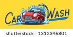 car cartoon banner | Shutterstock .eps vector #1312346801
