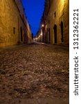 cobbled street rhodes   Shutterstock . vector #1312362221