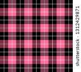 valentine day tartan plaid.... | Shutterstock .eps vector #1312429871