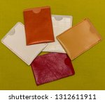 cover  cardholder  for genuine... | Shutterstock . vector #1312611911