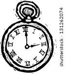 black and white vector... | Shutterstock .eps vector #131262074
