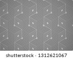 abstract geometric pattern with ... | Shutterstock . vector #1312621067