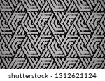 abstract geometric pattern with ... | Shutterstock . vector #1312621124