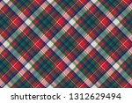 celtic check pixel plaid... | Shutterstock .eps vector #1312629494