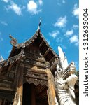 thai temple old | Shutterstock . vector #1312633004