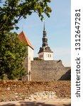tallinn  estonia  maiden tower... | Shutterstock . vector #1312647281