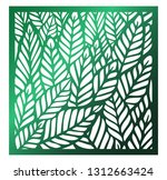 laser cutting square panel.... | Shutterstock .eps vector #1312663424