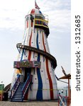 helter skelter on brightoin pier