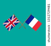 great britain and france... | Shutterstock .eps vector #1312729481