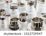 ceramic metal pipes  couplings... | Shutterstock . vector #1312729547