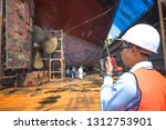 stevedore  controller  port... | Shutterstock . vector #1312753901