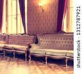 vintage sofas in a beautiful... | Shutterstock . vector #1312787921