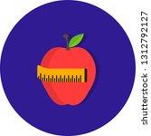 vector diet icon    Shutterstock .eps vector #1312792127