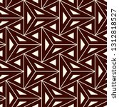 contemporary geometric pattern. ... | Shutterstock .eps vector #1312818527