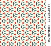 contemporary geometric pattern. ... | Shutterstock .eps vector #1312818554