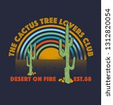 the cactus tree lovers club | Shutterstock .eps vector #1312820054