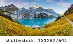 idyllic panorama view of the... | Shutterstock . vector #1312827641