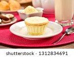 powdered milk dessert | Shutterstock . vector #1312834691