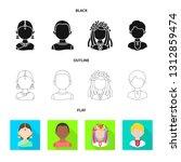 vector design of imitator and... | Shutterstock .eps vector #1312859474
