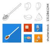 vector illustration of healthy...   Shutterstock .eps vector #1312861244
