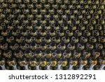 wine bottles background ... | Shutterstock . vector #1312892291