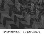 beautiful black abstract... | Shutterstock . vector #1312903571