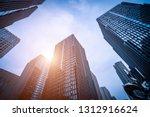 bottom view of modern... | Shutterstock . vector #1312916624