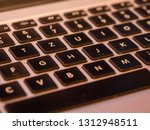 keyboard lap top computer ... | Shutterstock . vector #1312948511