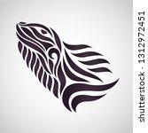 chameleon logo icon design ... | Shutterstock .eps vector #1312972451