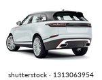 3d render of luxury suv car | Shutterstock . vector #1313063954