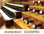 Keyboards Of Organ