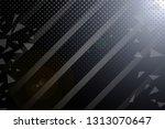 beautiful black abstract... | Shutterstock . vector #1313070647