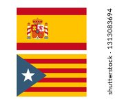 vector political icon flags of... | Shutterstock .eps vector #1313083694