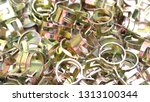 car spring hose clamp | Shutterstock . vector #1313100344
