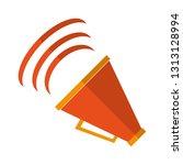 bullhorn volume symbol | Shutterstock .eps vector #1313128994