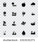 vector nature sign symbols. eco ... | Shutterstock .eps vector #1313131271
