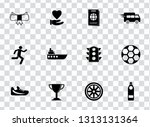 vector sports icons set. vector ... | Shutterstock .eps vector #1313131364