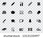 vector school education icons... | Shutterstock .eps vector #1313133497