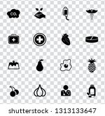 vector health care icons set.... | Shutterstock .eps vector #1313133647