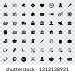 web icons set for computer.... | Shutterstock .eps vector #1313138921