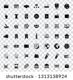 web icons set for computer.... | Shutterstock .eps vector #1313138924