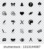 vector art icons. graphic... | Shutterstock .eps vector #1313144087
