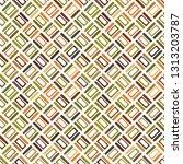 seamless vector pattern.... | Shutterstock .eps vector #1313203787
