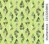 seamless vector pattern.... | Shutterstock .eps vector #1313203841