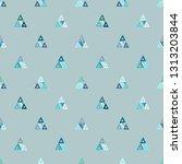 seamless vector pattern.... | Shutterstock .eps vector #1313203844