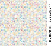 seamless vector pattern.... | Shutterstock .eps vector #1313203847